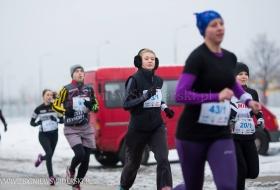 XXV Warszawski Triathlon Zimowy 18.01.2014 (fot. Zbigniew Świderski)